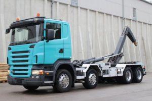Scania, leasing Scania, leasing hakowca scania z Niemiec, leasing na auto ciężarowe