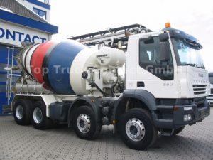 pompogruszka, betonomieszarka, leasing auta z Niemiec, auto z Niemiec, ciężarówka z Niemiec