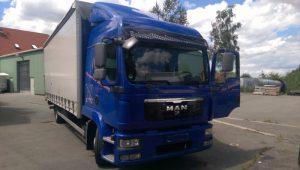 Auto ciężarowe MAN