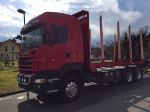 Scania R do drewna