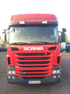 Scania do drewna
