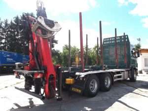 do drewna Scania R