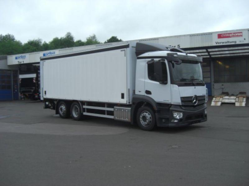 auta ciężarowe do przewozu napojów z niemiec
