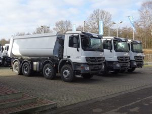 auta ciężarowe z niemiec
