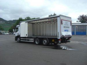 auto ciężarowe do przewozu napojów z niemiec