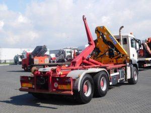 Ciężarówki Hakowiec z HDS sprzedaż leasing kredyt używanych poleasingowych samochodów ciężarowych z Niemiec hakowiec z HDS