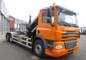 Hakowiec z HDS sprzedaż leasing kredyt używanych poleasingowych samochodów ciężarowych hakowiec z HDS