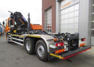 Samochód ciężarowy Hakowiec z HDS sprzedaż leasing kredyt używanych poleasingowych samochodów ciężarowych hakowiec z HDS