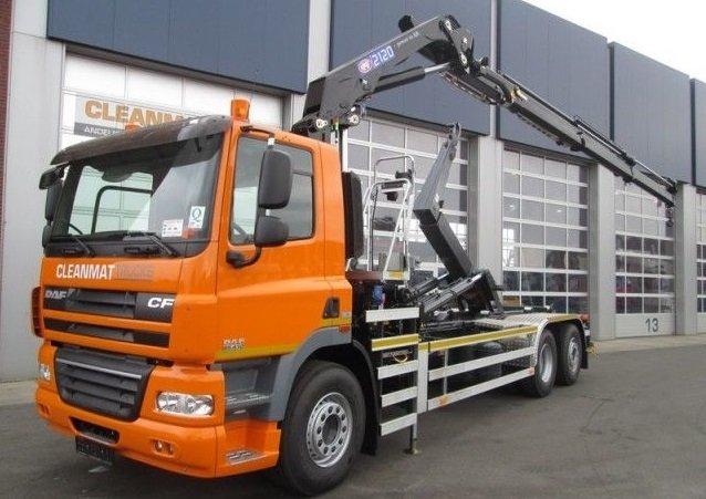 Samochody ciężarowe Hakowiec z HDS sprzedaż leasing kredyt używanych poleasingowych samochodów ciężarowych hakowiec z HDS