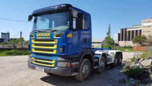 sprzedaż leasing kredyt auta ciężarowego hakowca z Niemiec i z zagranicy dla nowych firm